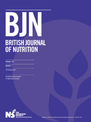 British Journal of Nutrition Volume 118 - Issue 7 -