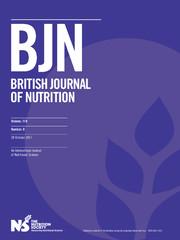 British Journal of Nutrition Volume 118 - Issue 8 -