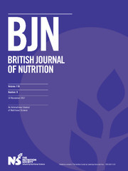 British Journal of Nutrition Volume 118 - Issue 9 -