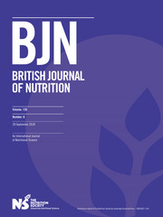 British Journal of Nutrition Volume 120 - Issue 6 -
