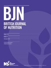 British Journal of Nutrition Volume 120 - Issue 8 -
