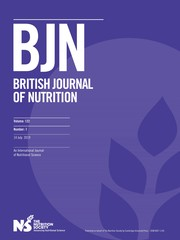 British Journal of Nutrition Volume 122 - Issue 1 -