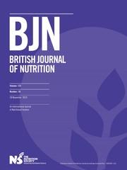 British Journal of Nutrition Volume 122 - Issue 10 -