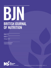 British Journal of Nutrition Volume 122 - Issue 4 -