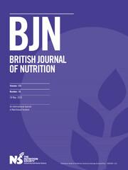 British Journal of Nutrition Volume 123 - Issue 10 -
