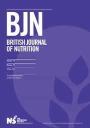 British Journal of Nutrition Volume 125 - Issue 10 -