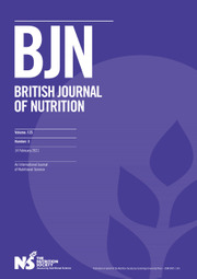 British Journal of Nutrition Volume 125 - Issue 3 -