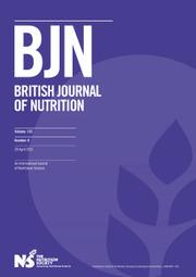 British Journal of Nutrition Volume 125 - Issue 8 -