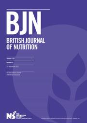 British Journal of Nutrition Volume 126 - Issue 6 -