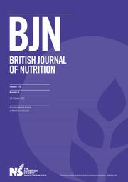 British Journal of Nutrition Volume 126 - Issue 7 -