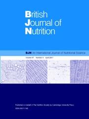 British Journal of Nutrition Volume 97 - Issue 4 -