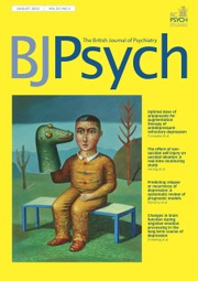 The British Journal of Psychiatry | Cambridge Core