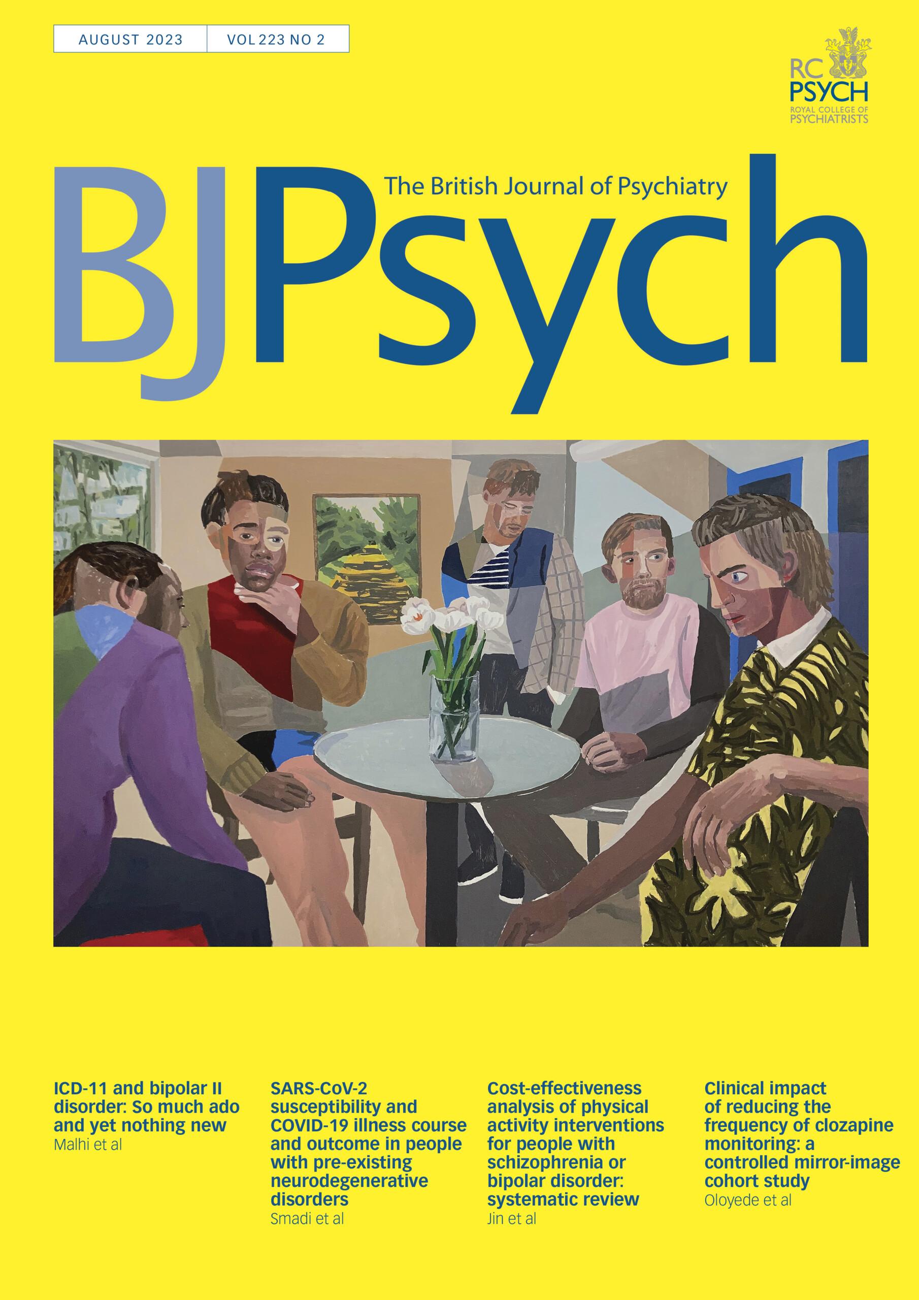 The British Journal of Psychiatry | Cambridge Core