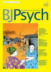 The British Journal of Psychiatry Volume 212 - Issue 1 -