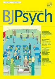 The British Journal of Psychiatry Volume 213 - Issue 1 -