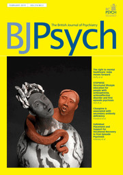The British Journal of Psychiatry Volume 214 - Issue 2 -