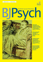 The British Journal of Psychiatry Volume 214 - Issue 3 -