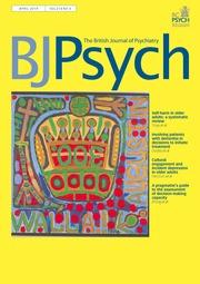 The British Journal of Psychiatry Volume 214 - Issue 4 -