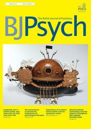 The British Journal of Psychiatry Volume 214 - Issue 6 -