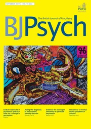 The British Journal of Psychiatry | Latest issue | Cambridge