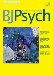 The British Journal of Psychiatry Volume 215 - Issue 4 -