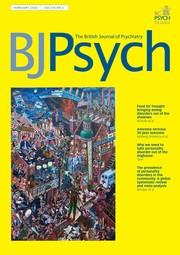The British Journal of Psychiatry Volume 216 - Issue 2 -