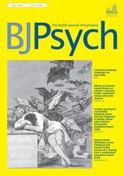 The British Journal of Psychiatry Volume 217 - Issue 1 -