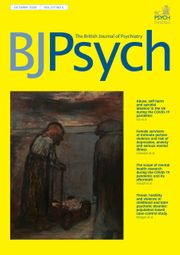 The British Journal of Psychiatry Volume 217 - Issue 4 -