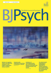 The British Journal of Psychiatry Volume 218 - Issue 5 -