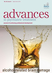 Advances in Psychiatric Treatment