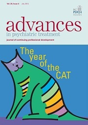BJPsych Advances Volume 20 - Issue 4 -