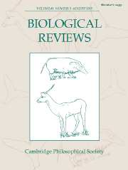 Biological Reviews Volume 80 - Issue 3 -