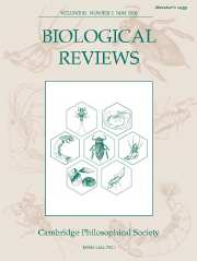 Biological Reviews Volume 81 - Issue 2 -