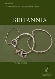 Britannia Volume 43 - Issue  -