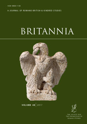 Britannia Volume 48 - Issue  -