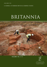 Britannia Volume 49 - Issue  -