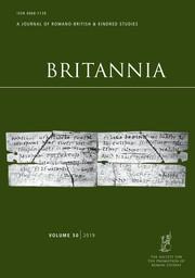 Britannia Volume 50 - Issue  -