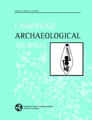Cambridge Archaeological Journal Volume 17 - Issue 2 -