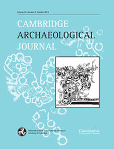 Cambridge Archaeological Journal Volume 24 - Issue 3 -