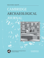 Cambridge Archaeological Journal Volume 28 - Issue 3 -