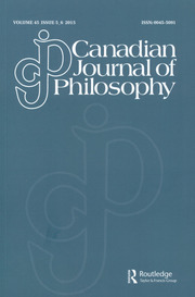 Canadian Journal of Philosophy Volume 45 - Issue 5-6 -  Special Issue: Belief, Action, and Rationality over Time