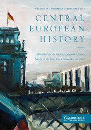Central European History Volume 48 - Issue 3 -  Photography and Twentieth-Century German History