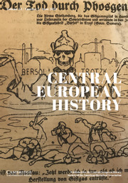 Central European History Volume 54 - Issue 2 -