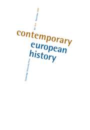 Contemporary European History Volume 16 - Issue 4 -  World Wars and Population Displacement in the Twentieth Century
