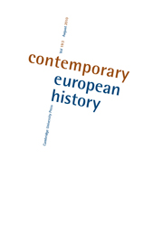 Contemporary European History Volume 19 - Issue 3 -  Aftershocks: Violence in Dissolving Empires after the First World War