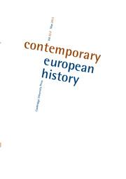 Contemporary European History Volume 22 - Issue 2 -
