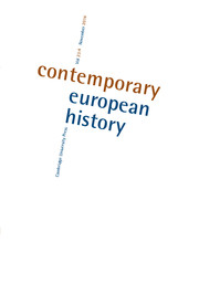 Contemporary European History Volume 23 - Issue 4 -  Emotions in Protest Movements in Europe since 1917