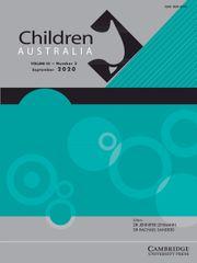 Children Australia Volume 45 - Special Issue3 -  Special Issue: Hoarding