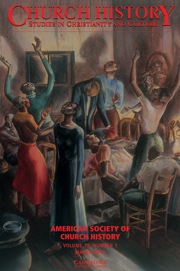 Church History Volume 79 - Issue 1 -
