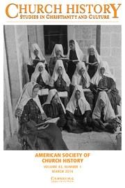 Church History Volume 83 - Issue 1 -